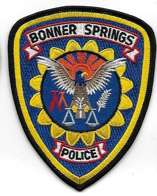USA BONNER SPRINGS INDIAN TRIBAL POLIZEI ,Aufnäher Patch Police Us