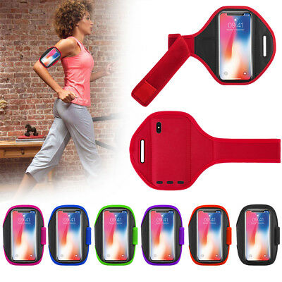 Sports Running Jogging Gym Armband Exercise Arm Band Holder for Apple iPhone X