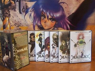 Madlax - Vol 1,2,3,4,5,6,7 - Complete LE Box Set Collection BRAND NEW DVD Anime