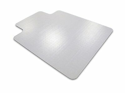 """Floortex Ultimat Polycarbonate Chair Mat for Carpets to 1/2"""", 47""""x35"""" with Lip"""