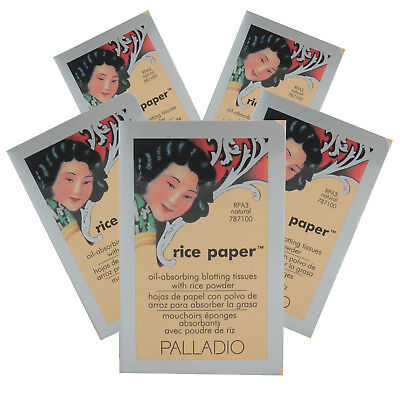 PALLADIO Rice Paper Blotting Tissues 1 or 6 Units