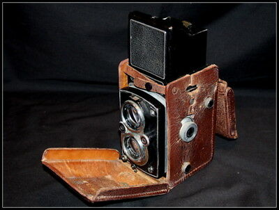 Rolleiflex Automat 6x6 TLR Camera. Model 3. K4B2 Zeiss Tessar 3.5
