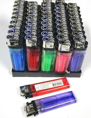 Wholesale Lot Of 50,100,200--Disposable Lighters,spark Wheel Safety-Pl50
