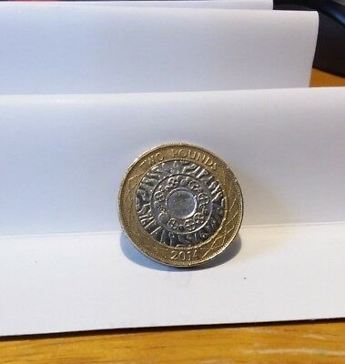 2014 £2 History Of Technology Two Pound Coin Standing On The Shoulders Of Giants