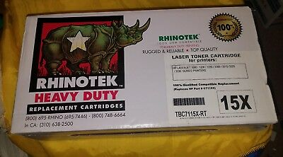 Rhinotek Q1200 15X for HP 1000 (Heavy Duty Laser Toner cartridge)  [New In Box]