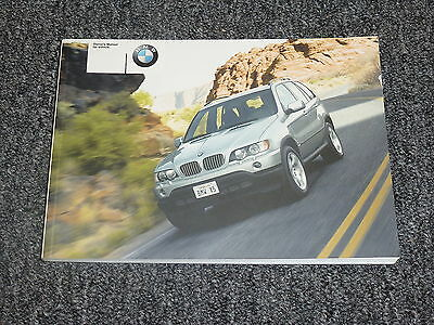 2003 bmw x5 owners manual
