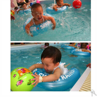 Baby Inflatable Underarm Swimming Aid Trainer Lie Prostrate Ring 2 Month-4 Years