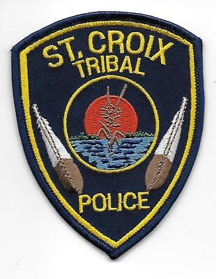 USA ST CROIX INDIAN TRIBAL POLIZEI ,Aufnäher Patch Police Us