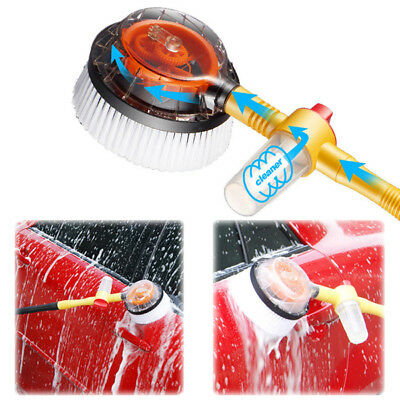 Car Extendable Pole Revolving Care Washing Brush Sponge Cleaning Pratical