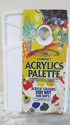 Winsor & Newton Compact Acrylic Paint Palette Made in England NEW