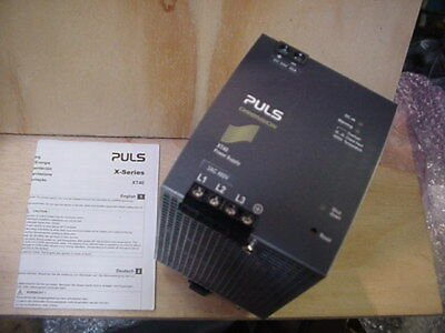 New PULS 24vdc 40a DC Power Supply XT40-242 480v 3p input (11 avail)