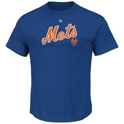 Majestic New York Mets SERIE Sweep MLB T-shirt Blue