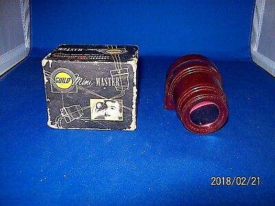 VINTAGE CRAFTSMAN GUILD MINI - MASTER VIEWER made in HOLLYWOOD CALIFORNIA