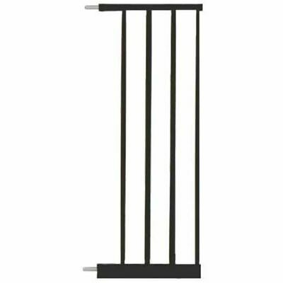 Noma Safety Gate Extension Easy Pressure Fit 28 cm Metal Black Accessory 93484