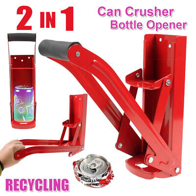 Can Crusher Bottle Opener Recycling Cans Kitchenware Sada Beer 16oz Heavy Duty