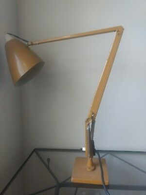 Vintage Retro 1970's Australian made Studio K Brown/Mustard Planet Lamp