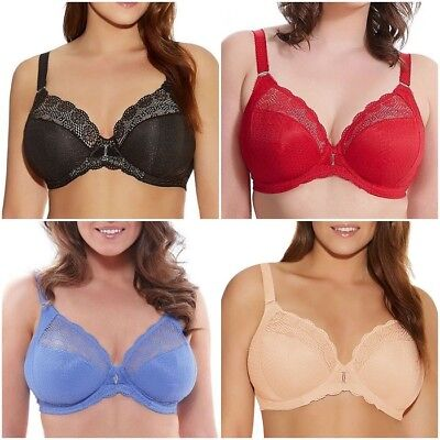 b15b1dcb303 NWT Elomi Carmen Plunge Bra with Stretch Cup EL4010 VARIOUS US SIZES &  COLORS
