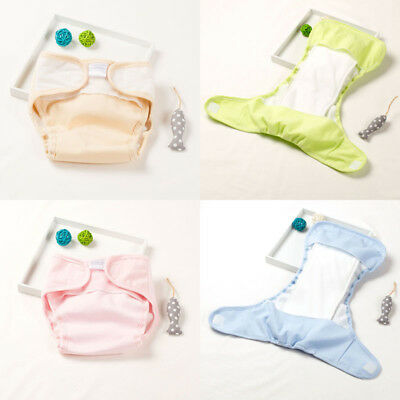Baby Girls Boys Pee Potty Training Pants Washable Cloth Diaper Nappy Underwear