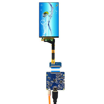 5.5inch Resoluton 2560x1440 mipi lcd screen LS055R1SX04 with controller board
