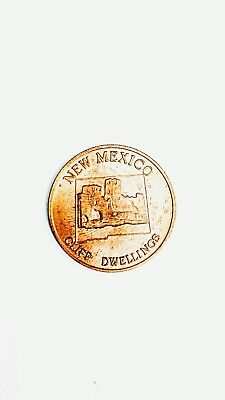 NEW MEXICO1969 Shell Oil  State s of the Union Medallion  Coin Vintage Old