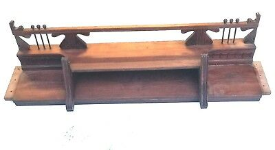 Vintage Mantle Shelf Header Pediment Mantle Fireplace