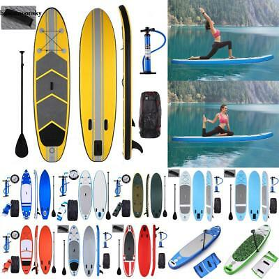 SUP Board Stand Up Paddle Surf-Board aufblasbar inkl. Paddel ISUP Paddling 340cm