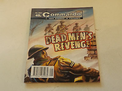 Commando War Comic Number 2647!!,1993 Issue,v Good For Age,24 Years Old,v Rare.