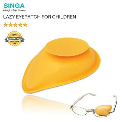 Kinder Augenklappe Brille Lazy Eyepatch Eye Patch Amblyopie Strabismus Neu
