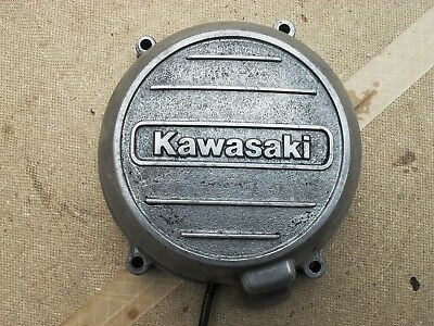 Original Kawasaki Z650 Alternator Cover and Windings - Excellent condition