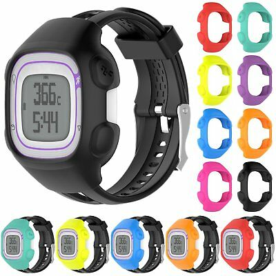 Silicone Sports Case Cover Housing Shell For Garmin Forerunner 10 15 GPS Watch