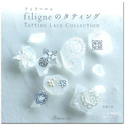 Filigne Tatting Lace Collection Japanese Craft Pattern Book From JAPAN