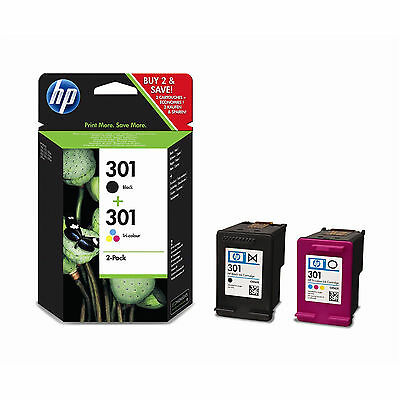 New Original HP 301 Black & Colour Combo Pack for HP ENVY 5530