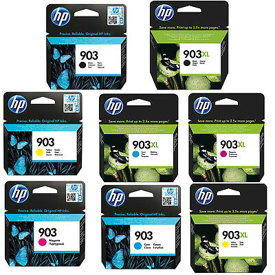 Genuine HP 903 / 903XL Black & Colour Ink Cartridges for OfficeJet Pro 6960 6970