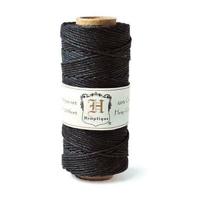 Hemptique 20lb Hemp Cord 1mm x 62m