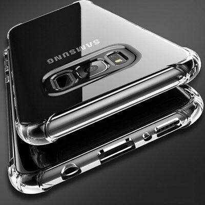 For Samsung Galaxy S6 S7 Edge S9 Plus S8 Shockproof Soft Clear Case Phone Cover