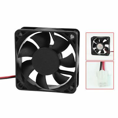12V 60mm x 15mm 2 Pin CPU Brushless Cooling Fan PC Cooler Heat Sink 6015 RPM