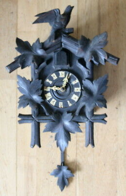 Vintage Antique 1930S German Cuckoo Clock Black Forest Restoration Spares Repair