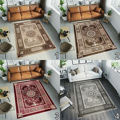 Oriental Area Rugs Extra Large Small Size in Beige Brown Red Grey Floral Pattern