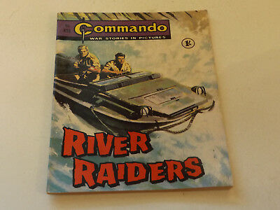 Commando War Comic Number 418,1969 Issue,v Good For Age,49 Years Old,very Rare.