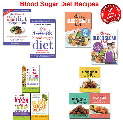Blood Sugar Diet Recipe books set lose weight Challenge collection Cookbook Pack