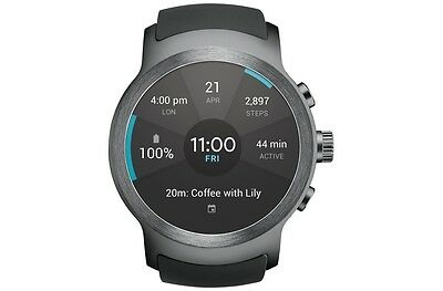 LG Watch Sport AT&T Stainless Steel W280A Unlocked/GSM ONLY Excellent Condition