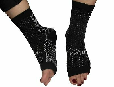 PRO 11 foot compression socks 1 pair heel and arch pain relief