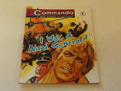 Commando War Comic Number 424,1969 Issue,v Good For Age,49 Years Old,very Rare.