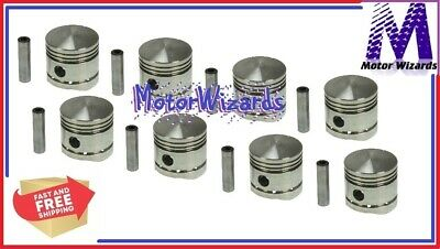 SEALED POWER 1003NP 40 Pistons 8-PACK for Ford Mercury 239 Flathead .040