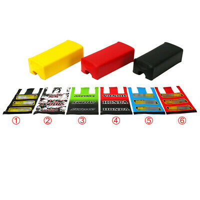 """1Pc Square Fat Bar Pad For 1-1/8"""" 28MM Handlebar Chest Protector Dirt Pit Bike"""