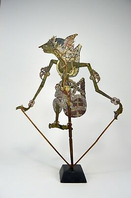 Antique Wayang Kulit Shadow Puppet from Java, Indonesia