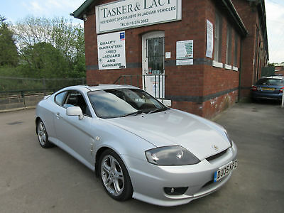 2005 Hyundai Coupe 2.0 SE Silver with Charcoal Leather