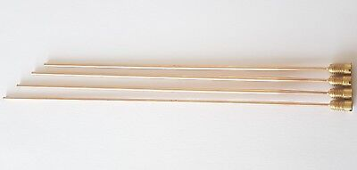 Tuned Gong Set Bronze Rods Longest 240mm Length Diameter 2.80mm Thread 6.50mm