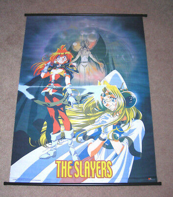 """The Slayers Try Lina Inverse Large Anime Fabric Wall Scroll 31"""" x 43"""""""