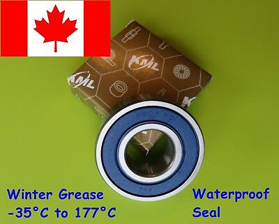 6203-2RS Bearing ( 6203 RD ) C3 Premium Sealed Ball Bearing 17x40x12 mm ( 1PCS )